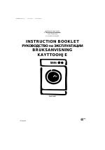 electrolux ews 1046 инструкция пользователя