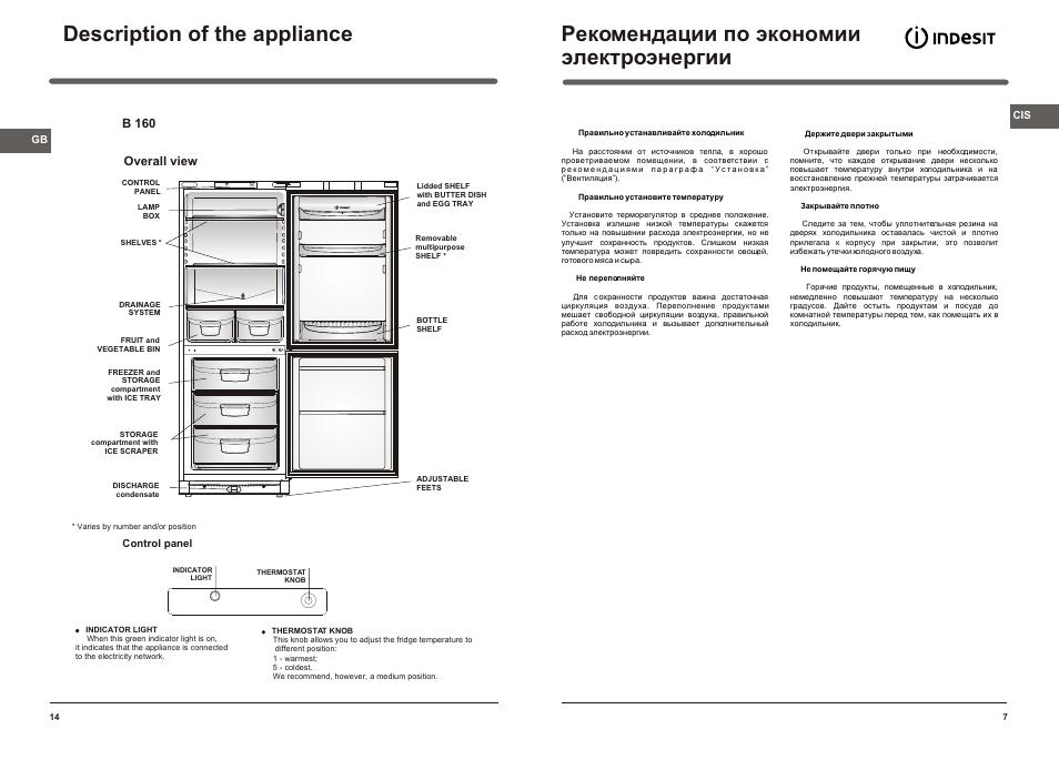 холодильник индезит 236 тап двухкамерный инструкция