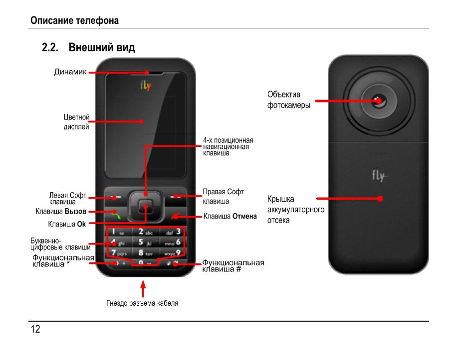 инструкция к телефону fly 5s