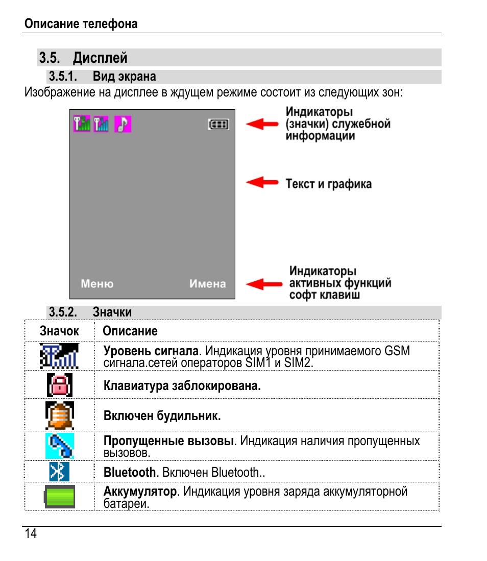 Дисплей Инструкция по эксплуатации Fly DS160 Страница 16 / 47