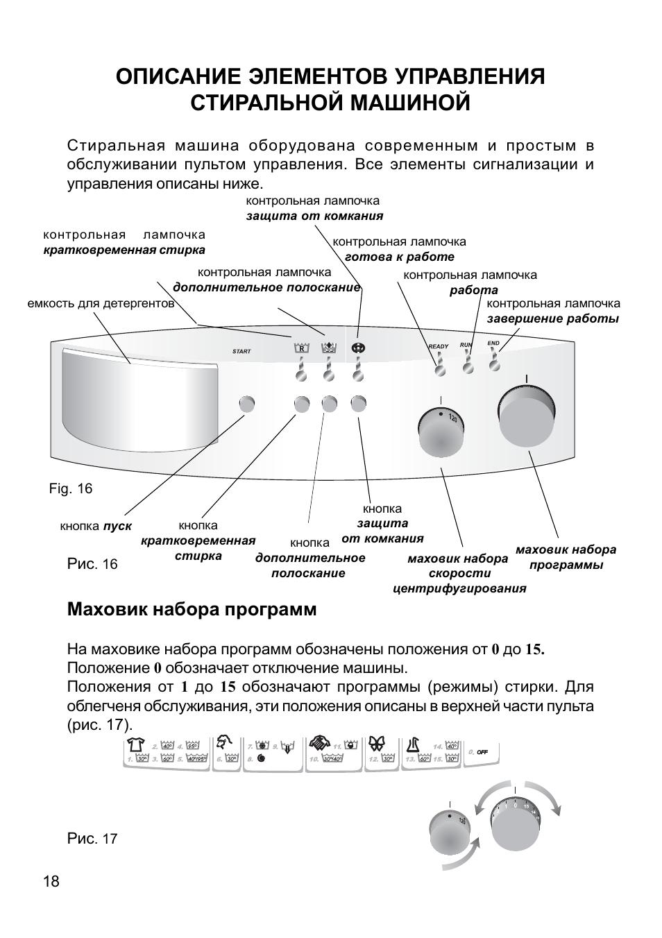 hansa стиральная машина инструкция по эксплуатации