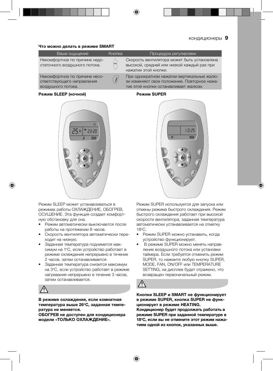 электролюкс кондиционер инструкция по применению