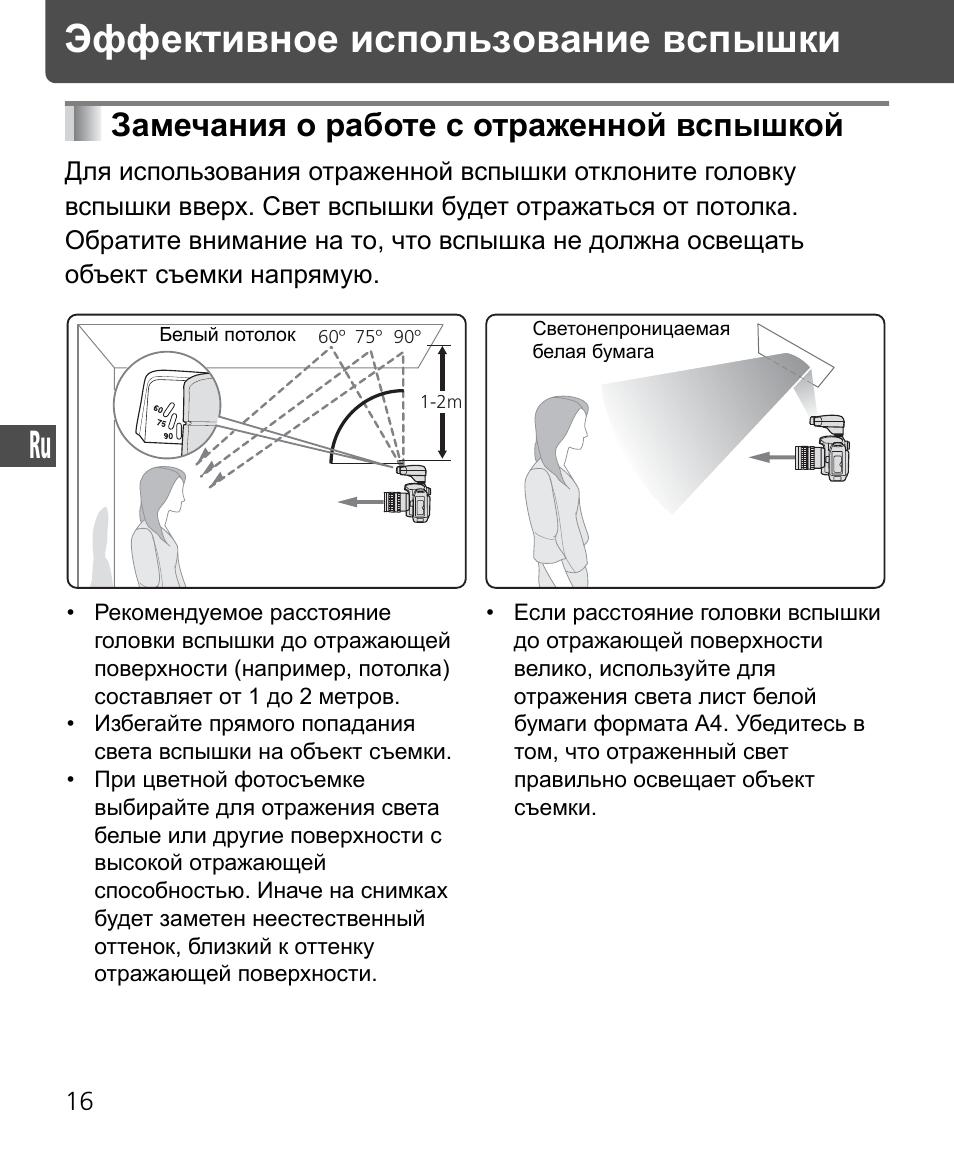 смерти инструкция по применению фотовспышки для совещаний