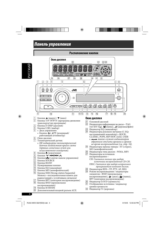 обзор магнитолы jvc kd g527 инструкция
