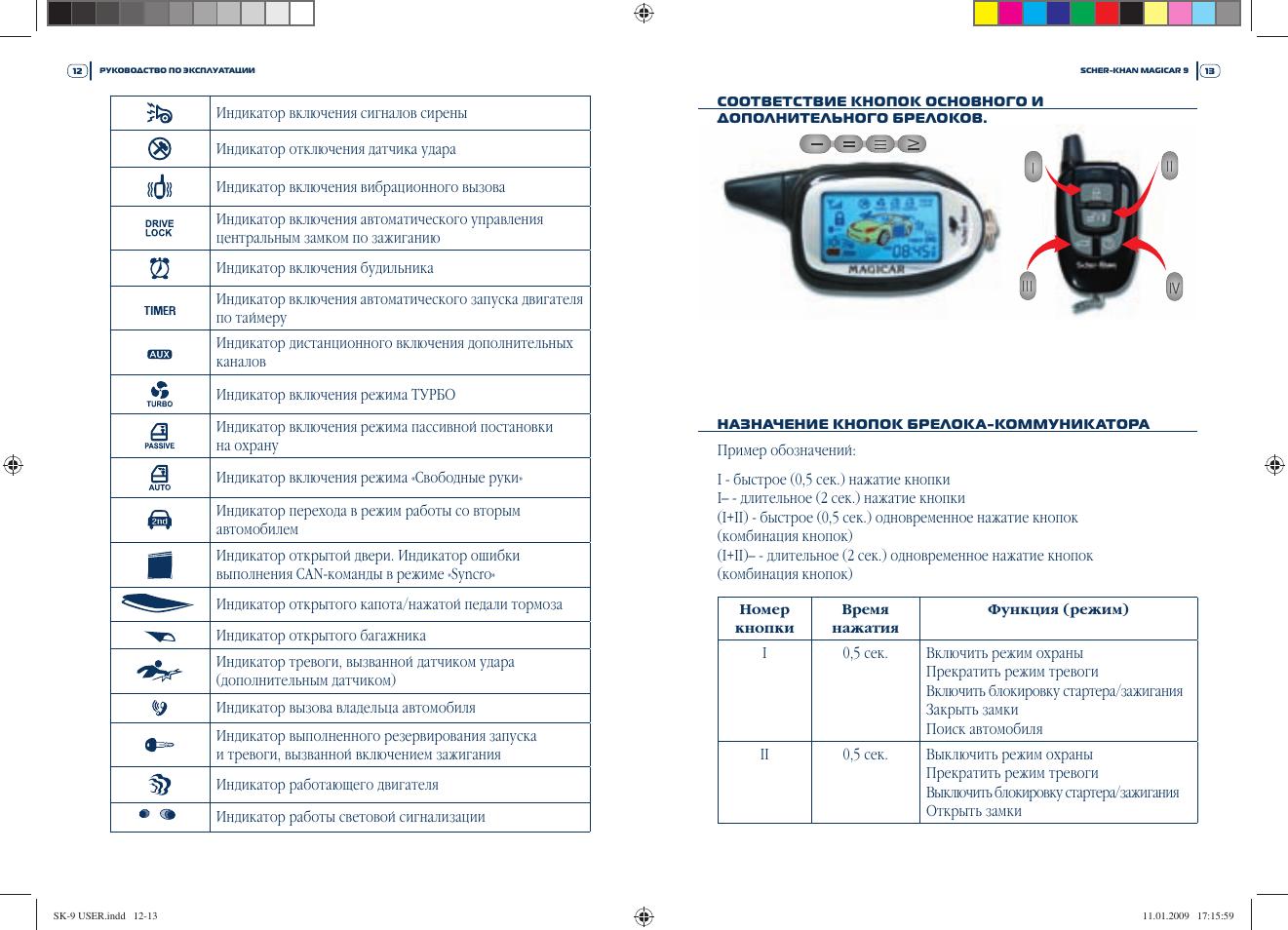 сигнализация шерхан магикар 10 инструкция автозапуск