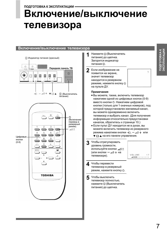 Схема телевизора toshiba 19el933rb