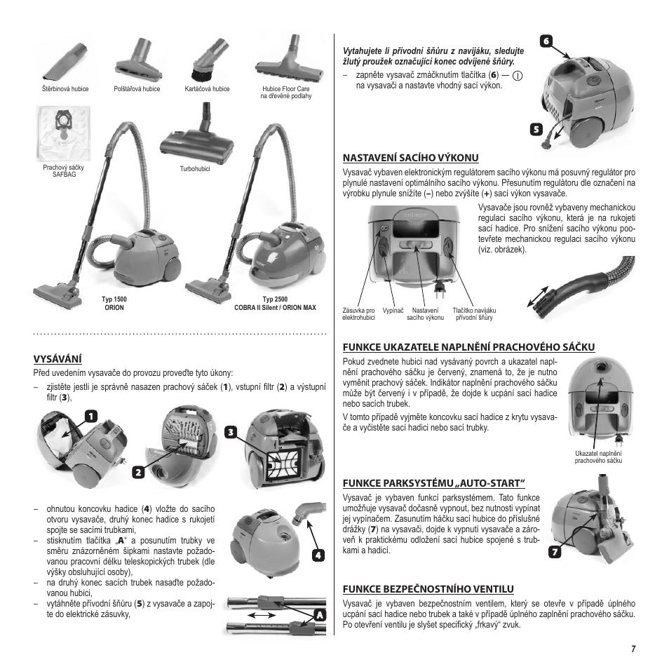 инструкция по эксплуатации пылесоса зелмер аквавелт 1500