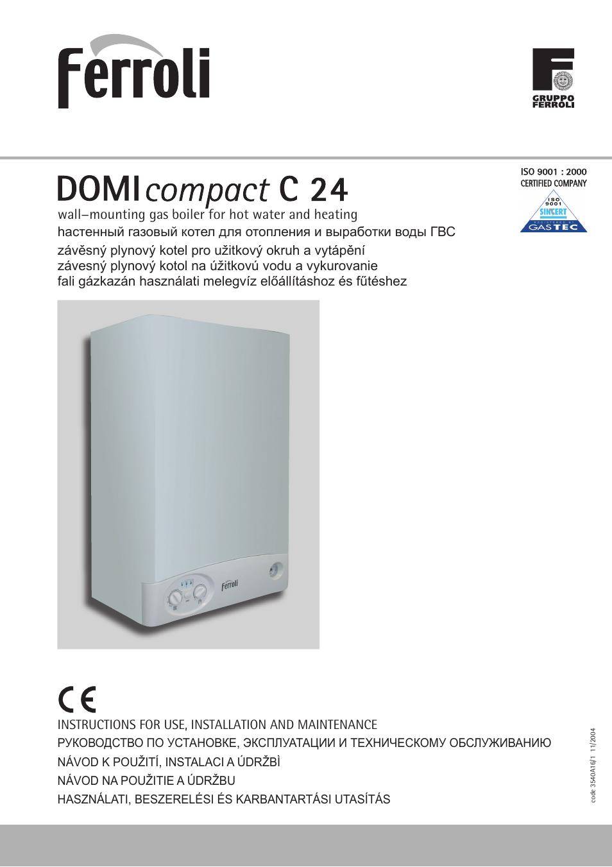 ferroli domicompact c24 28