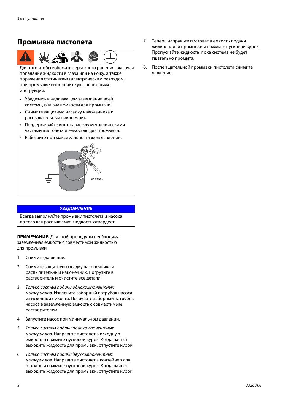 Инструкция по охране труда по промывке теплообменников