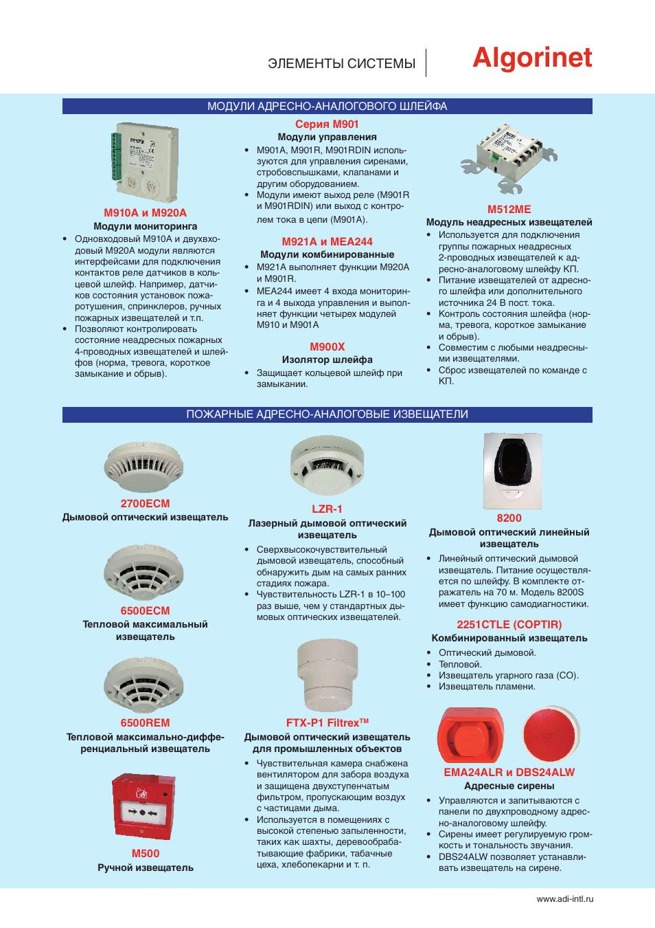 Инструкции по эксплуатации пожарной сигнализации