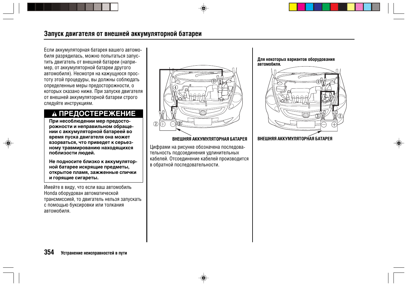 Honda stepwgn схема предохранителей