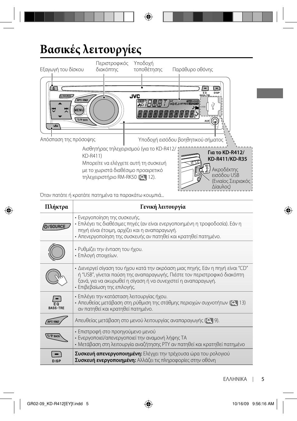 магнитола jvc kd r311 инструкция по применению