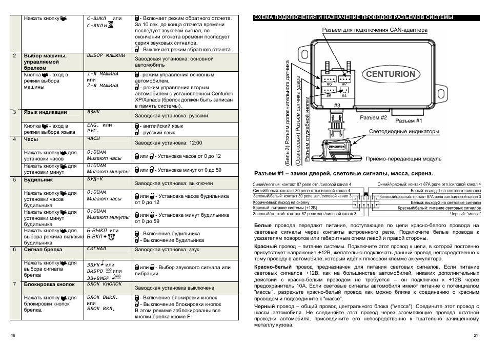 Схема электрооборудования газель цветная с описанием