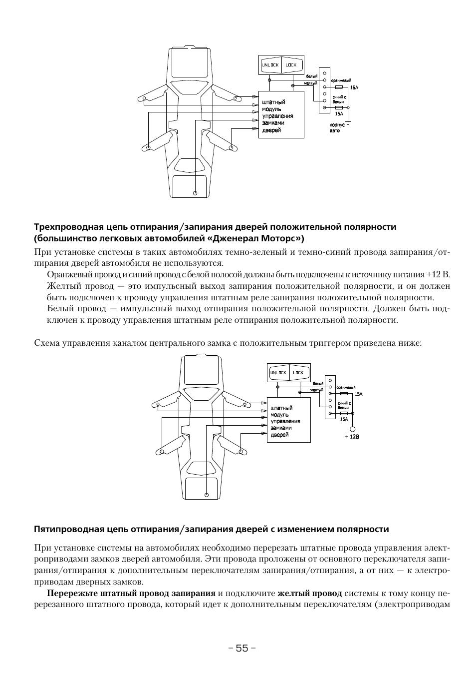Схема электропривод закрывания двери авто