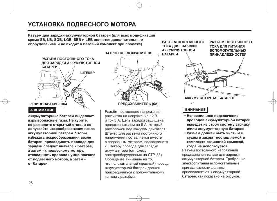 руководство по ремонту подвесного мотора
