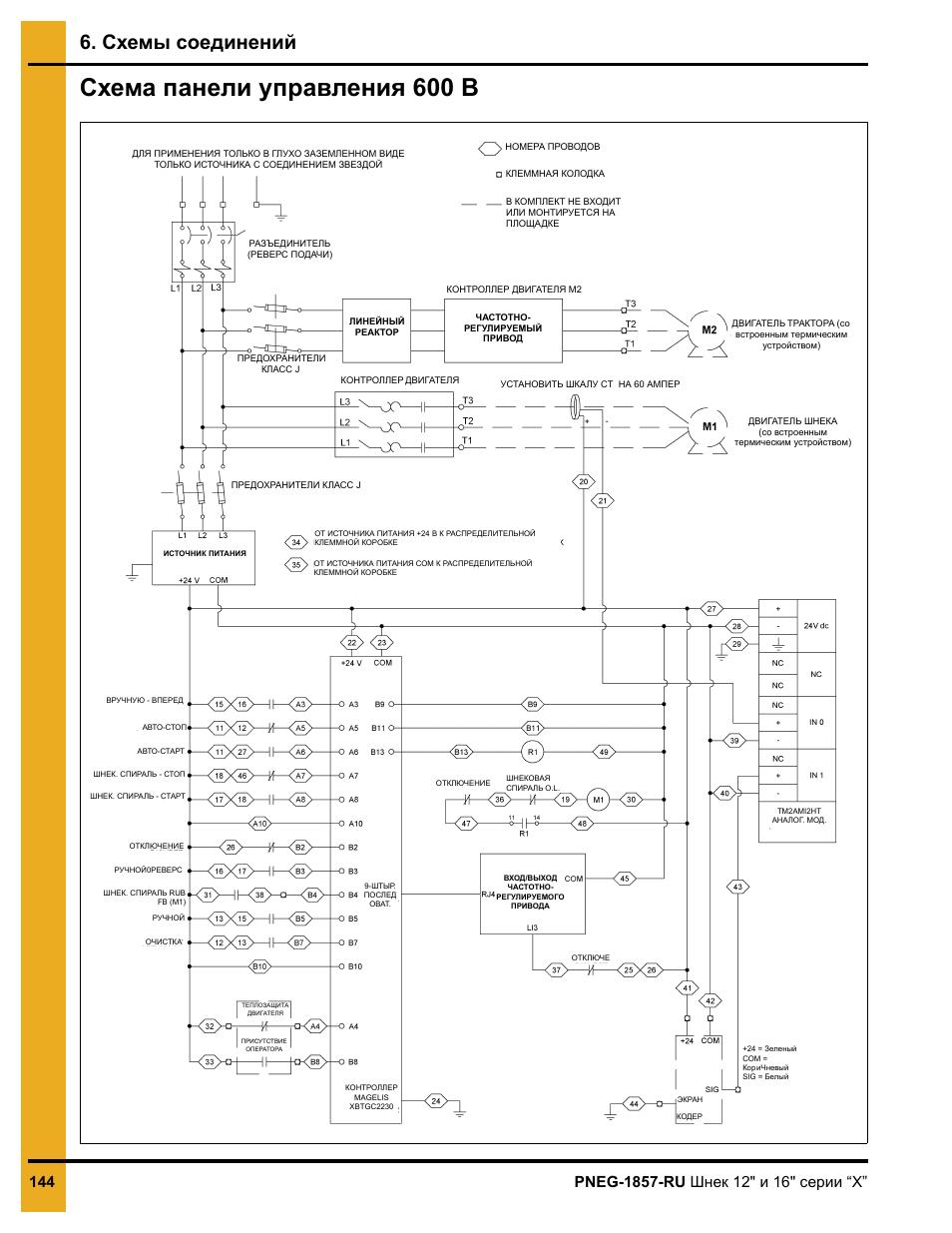 Схемы управления двигателями от