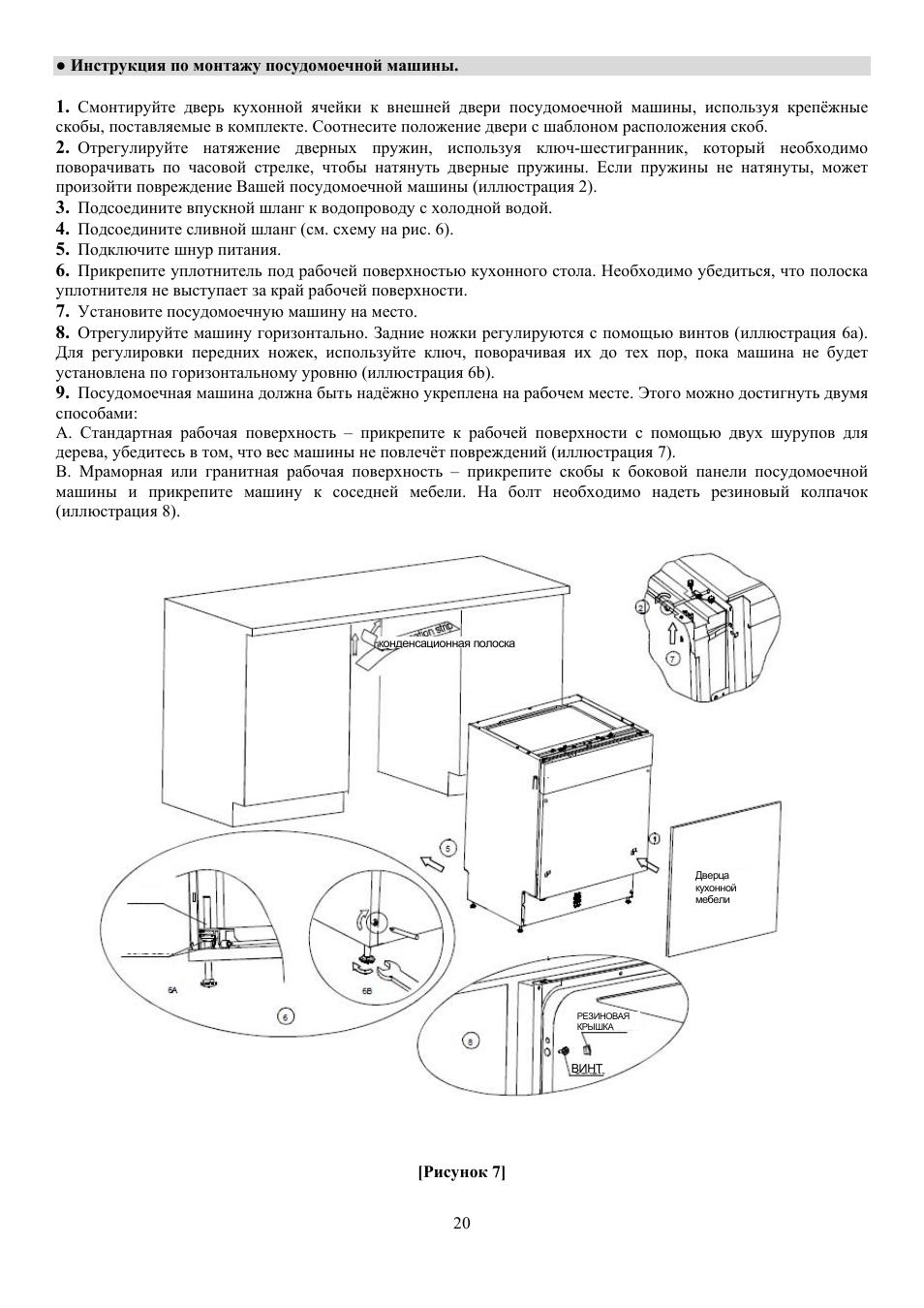 teka машина инструкция по эксплуатации посудомоечная