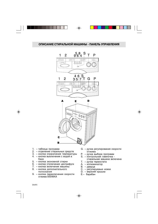 инструкция по эксплуатации стиральной машины ardo a400
