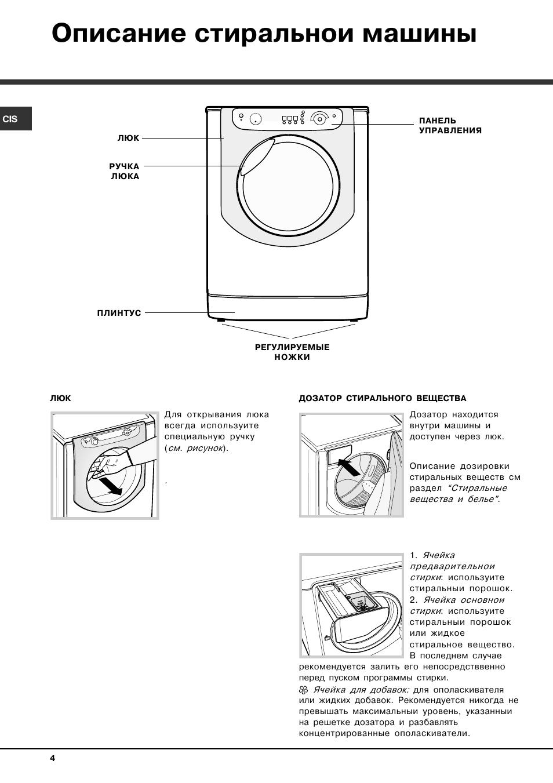 Инструкция устранение неполадок стиральная машина аристон 109
