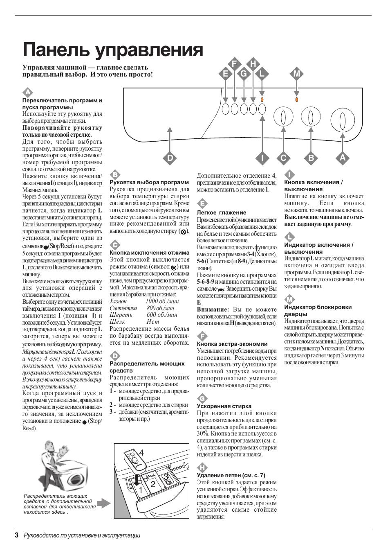Инструкция К Стиральной Машине Indesit Wg835Txc