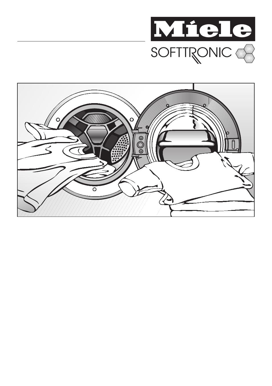 Miele Wt 2670 Wpm инструкция - картинка 3