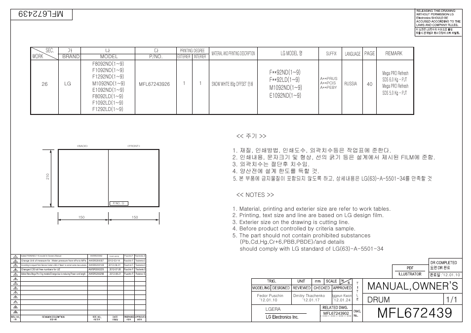 Lg F1092nd инструкция - фото 9