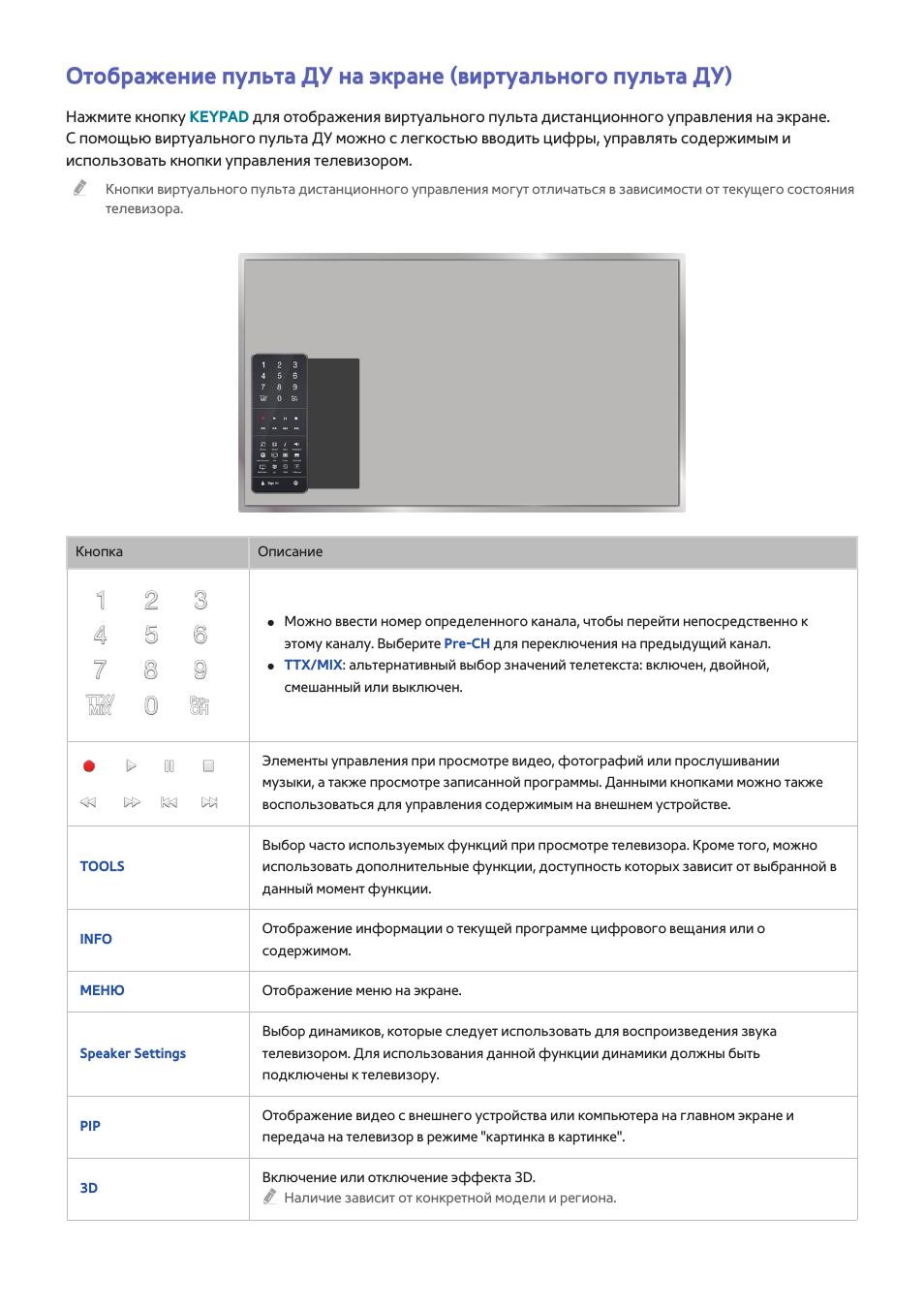 Инструкция по эксплуатации Samsung UE55HU8700T Страница 45 / 240 Оригинал Также для: UE50HU7000U, UE65HU7500T, UE85HU8500T, UE55