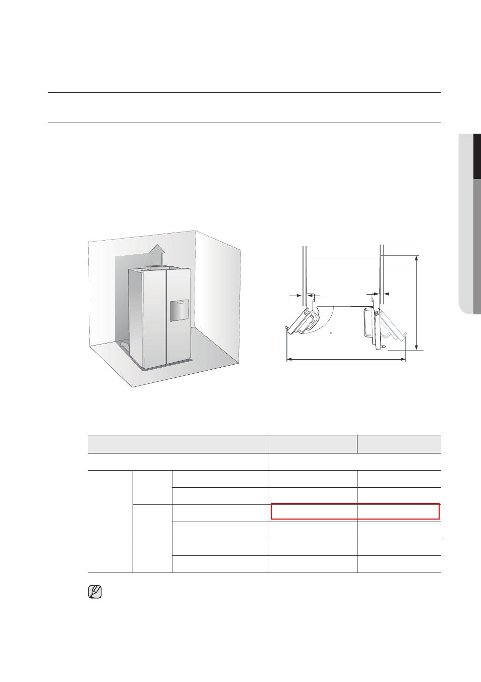 Установка холодильника самсунг