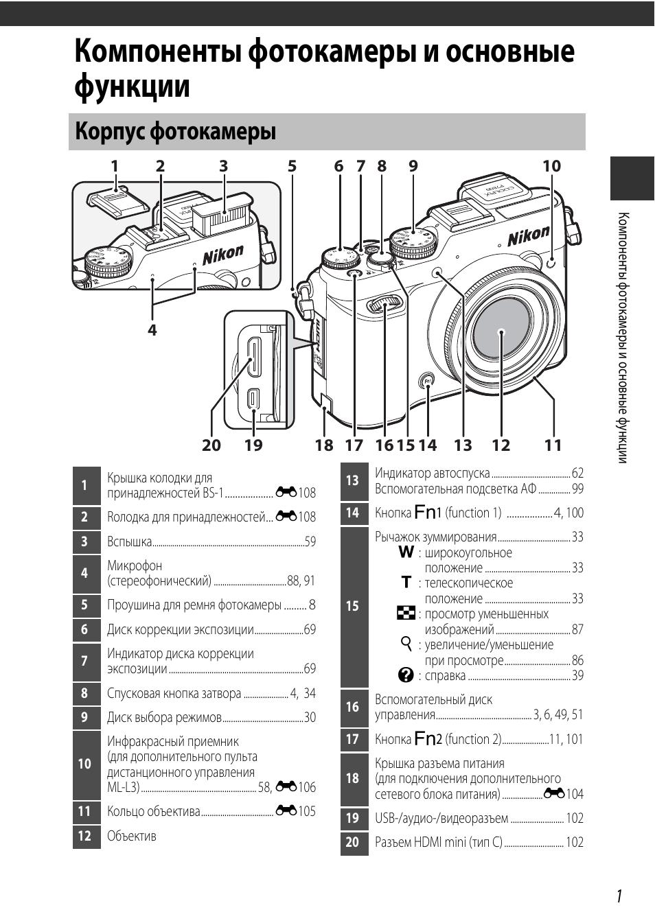 логично, инструкция по эксплуатации фотоаппарата никон позволяет