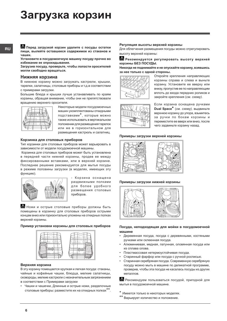 инструкция indesit dsg 0517