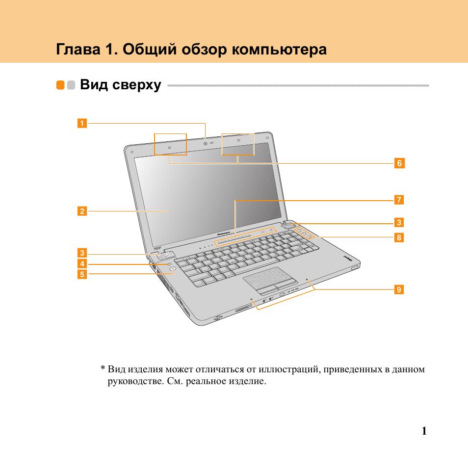 инструкция эксплуатации ноутбука леново в50-10