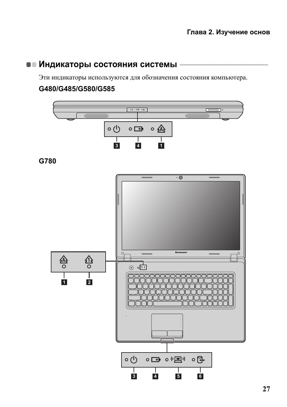 Инструкция по эксплуатации lenovo g580