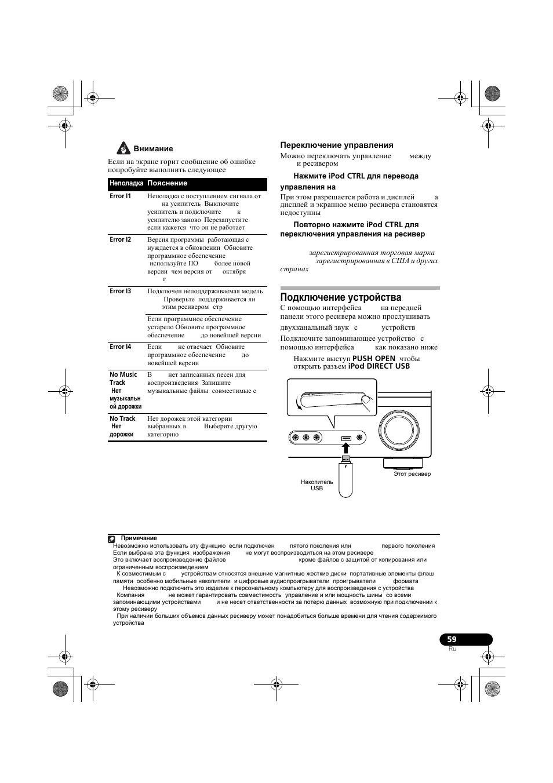 инструкция по эксплуатации для pioneer vsx-818v-k