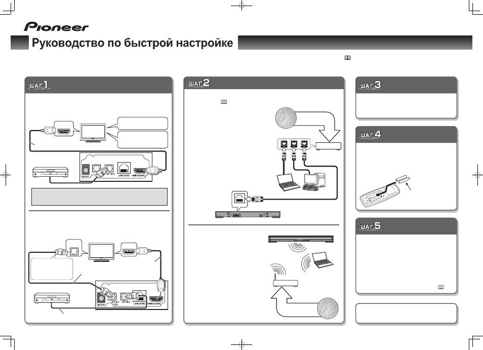 Pioneer Телевизор Инструкция - фото 4