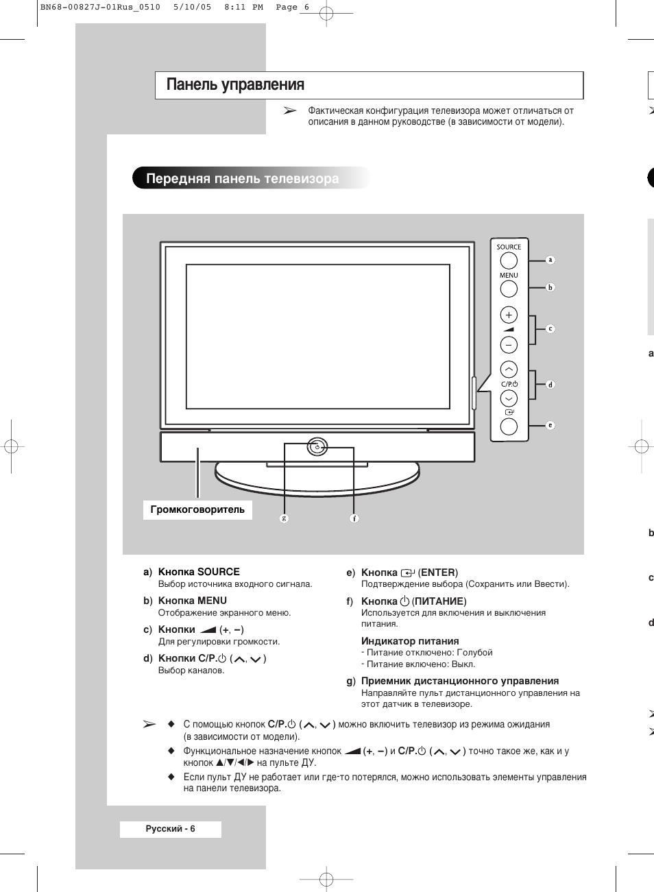 инструкция по эксплуатации телевизоров самсунг