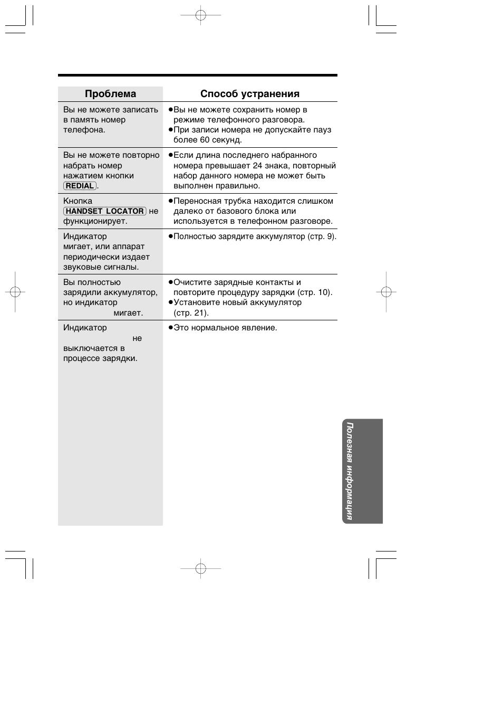 Panasonic kx tc инструкция по эксплуатации