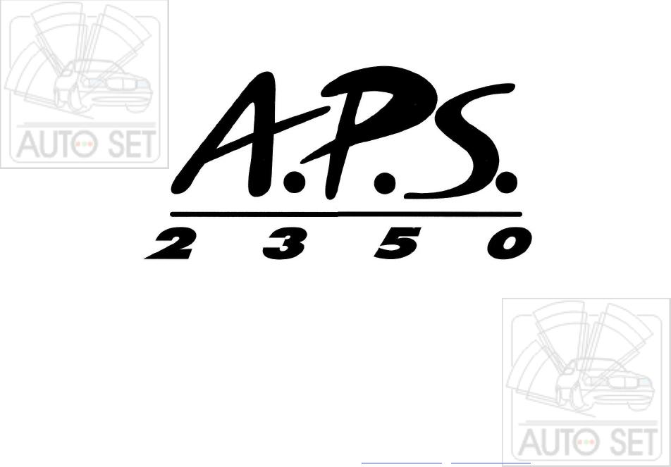 эксплуатации для APS 2350