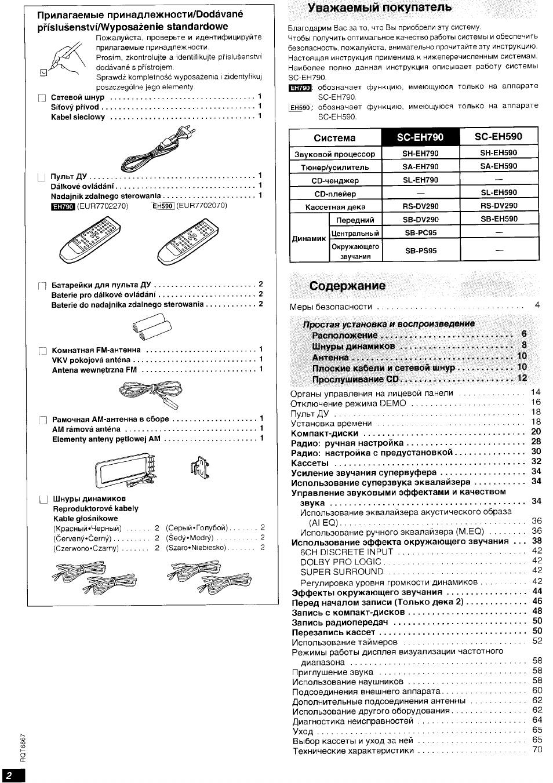technics sc-eh50 кинематическая схема