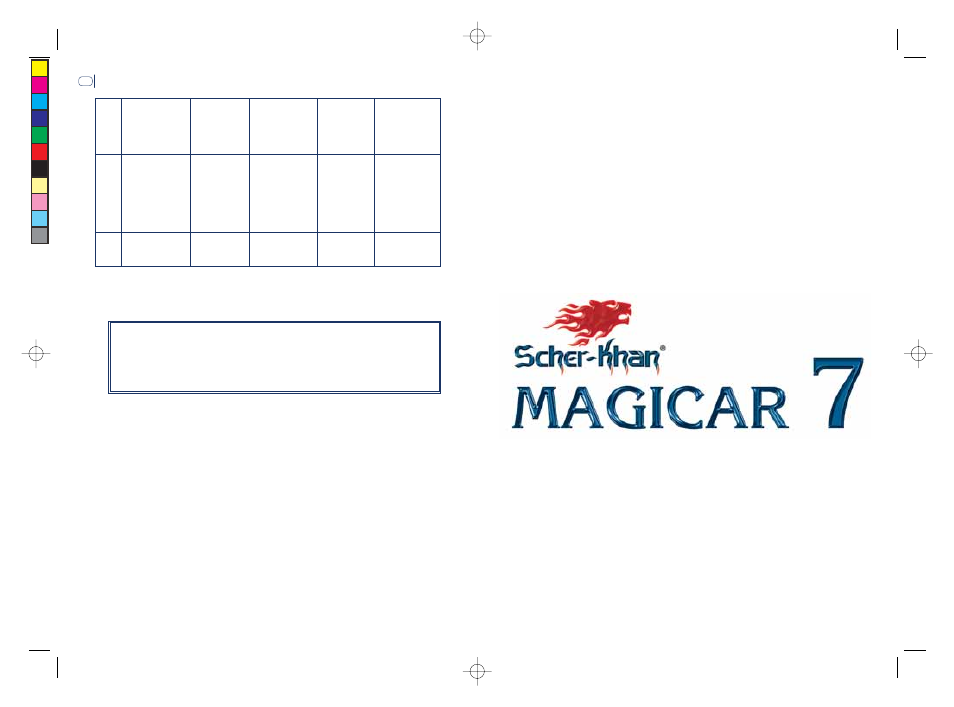 background - Шерхан магикар 7 таблица программирования