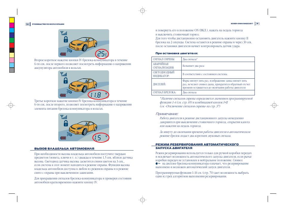 Управление опцией режима контроля второго транспортного средства.