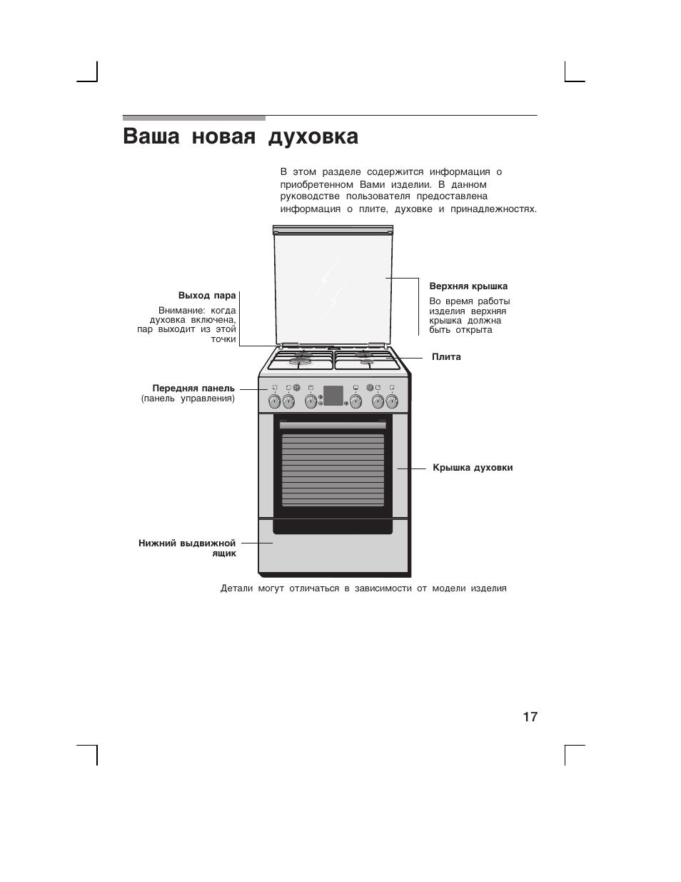 электроплита бош инструкция духовка