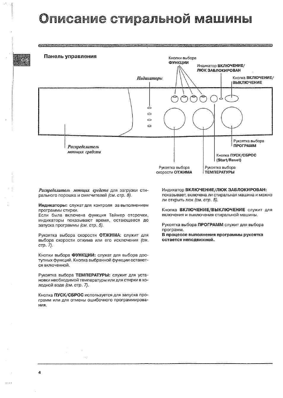 инструкция на стиральную машину индезит wisl 83