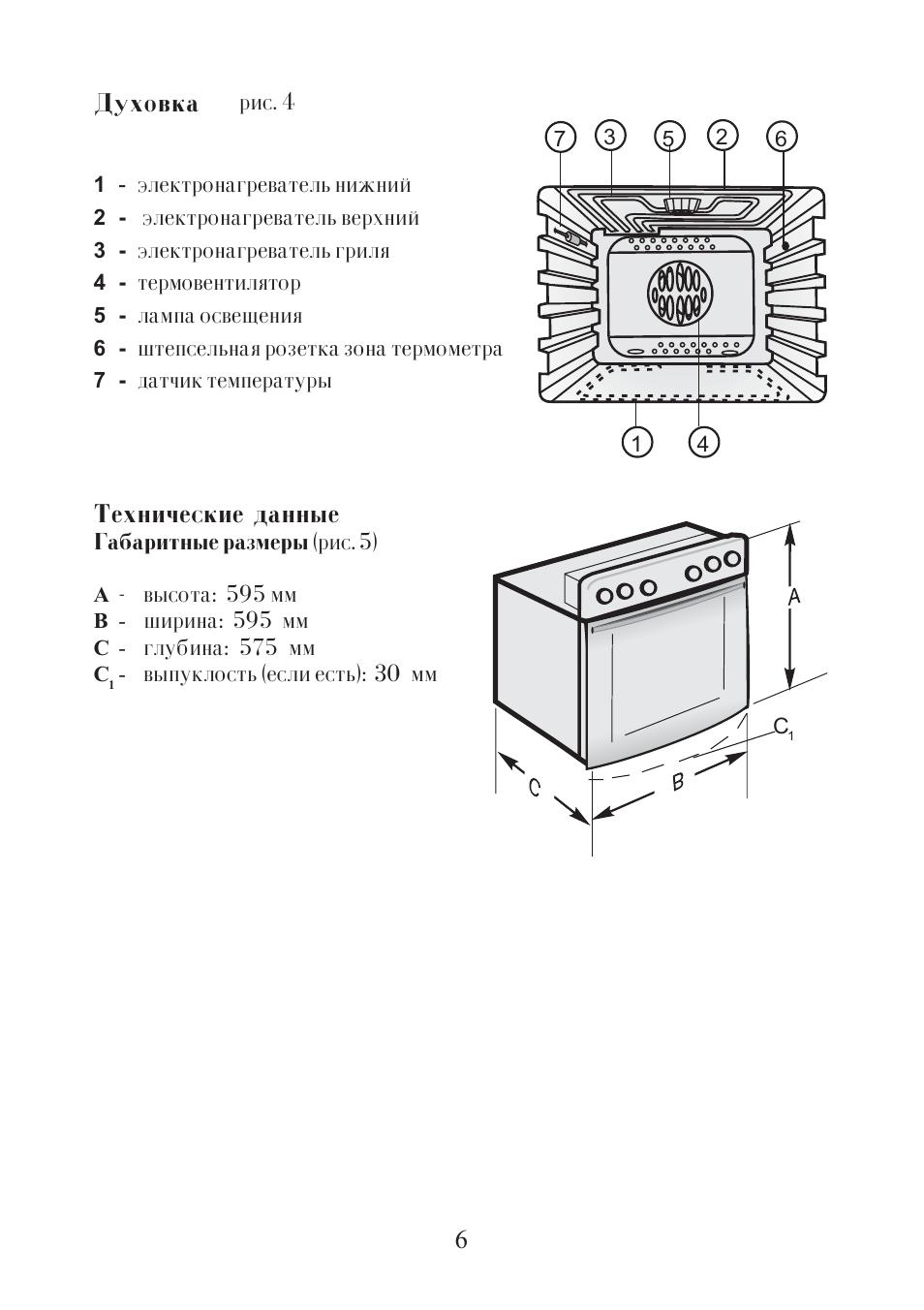 инструкция по применению плиты hansa