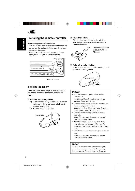 Инструкция По Эксплуатации Jvc Kd-g531h