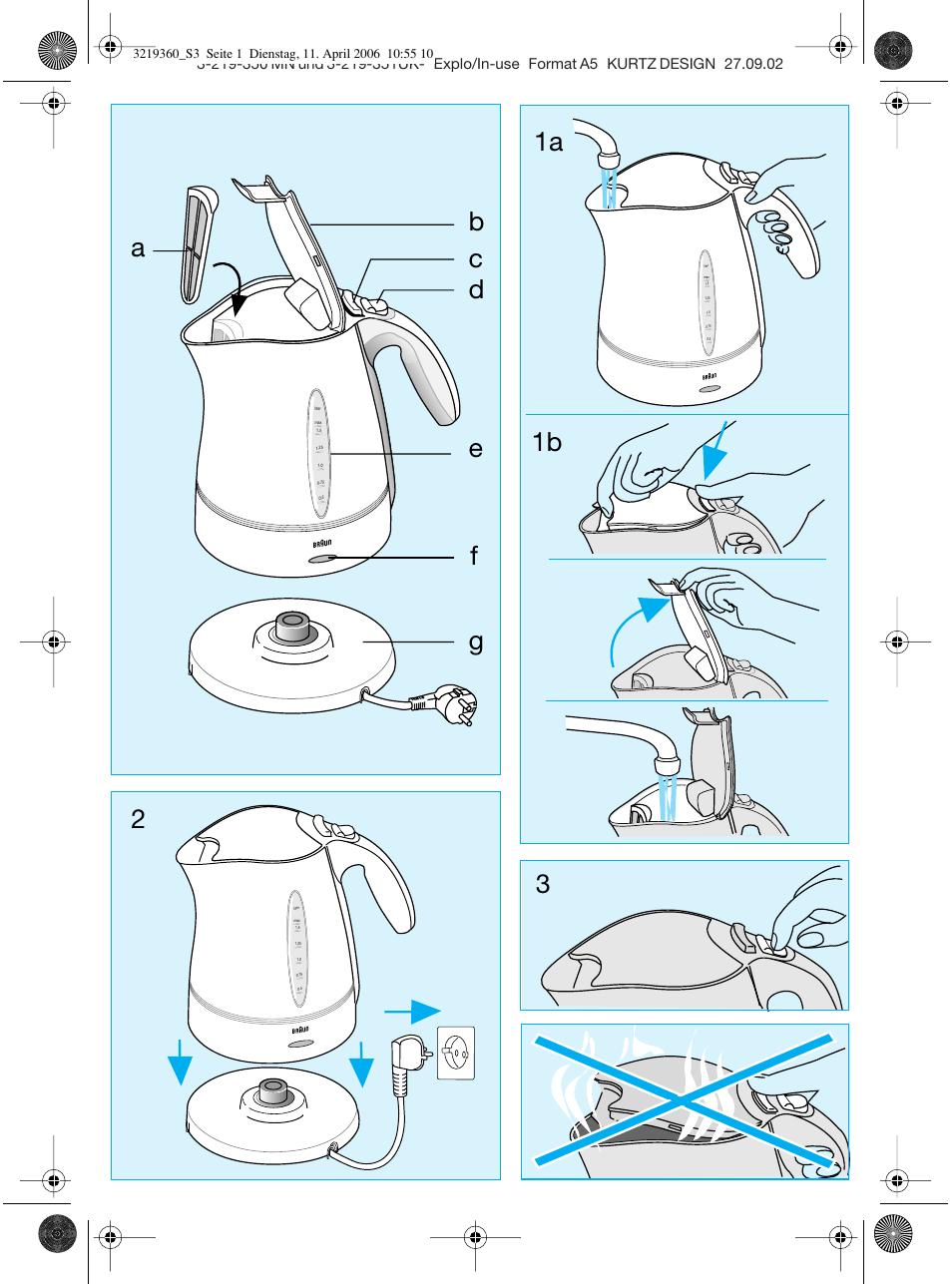 Чайник электрический устройство и электрическая схема