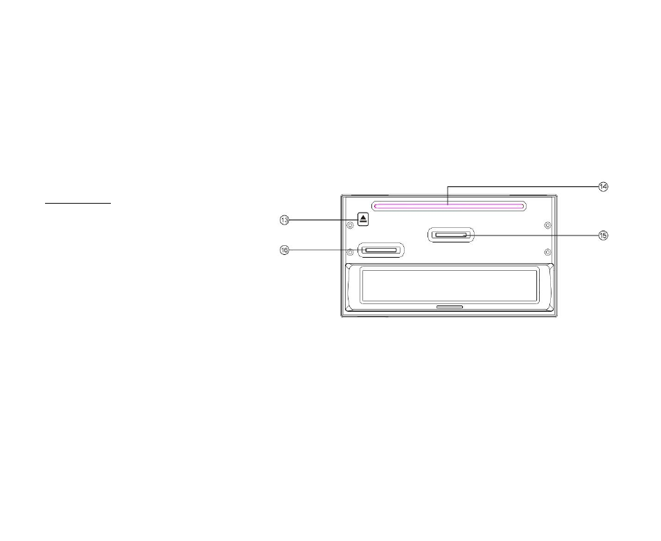 Inner panel | Инструкция по эксплуатации Hyundai H-CMDN6000