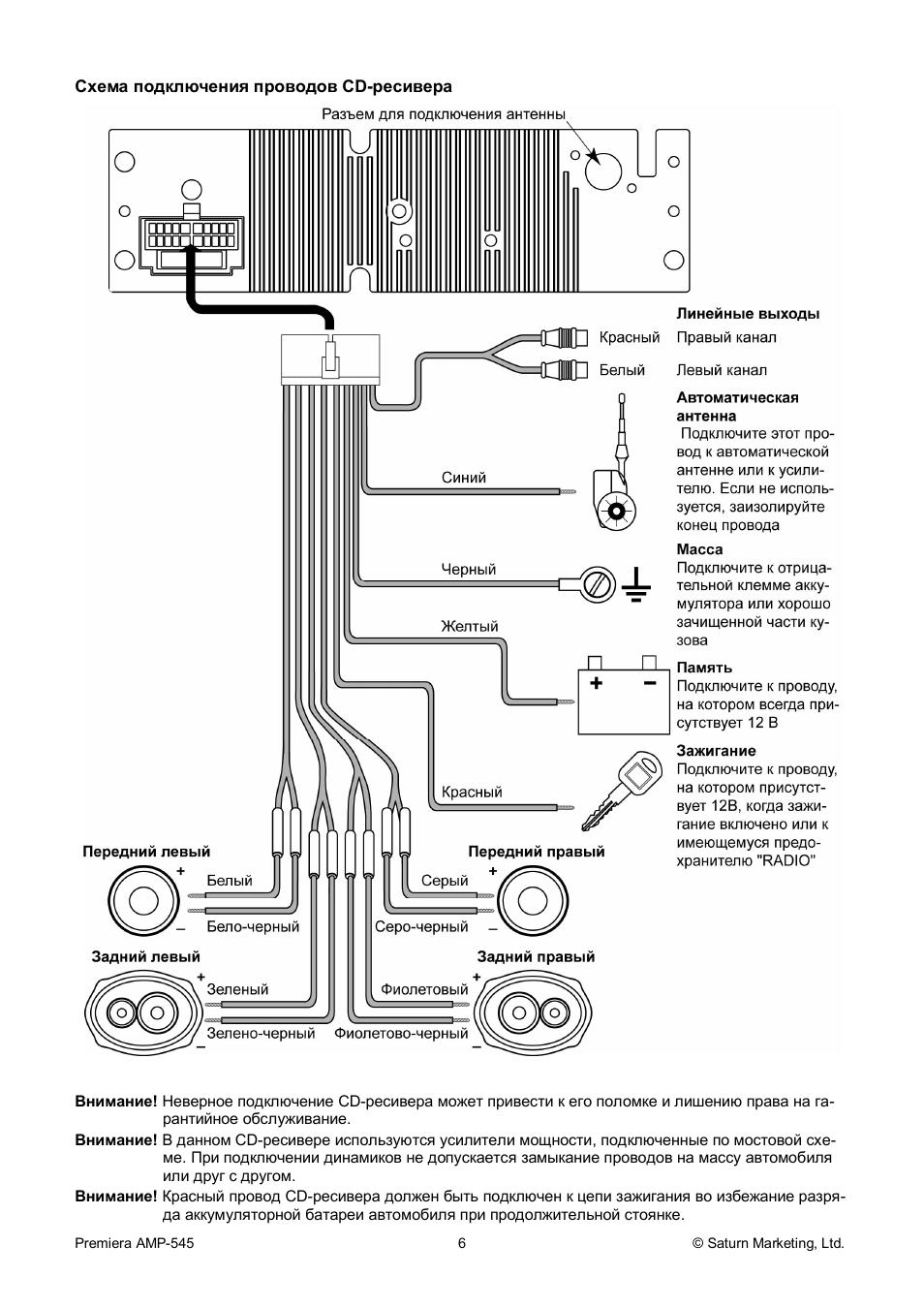 Premiera amp 540 схема