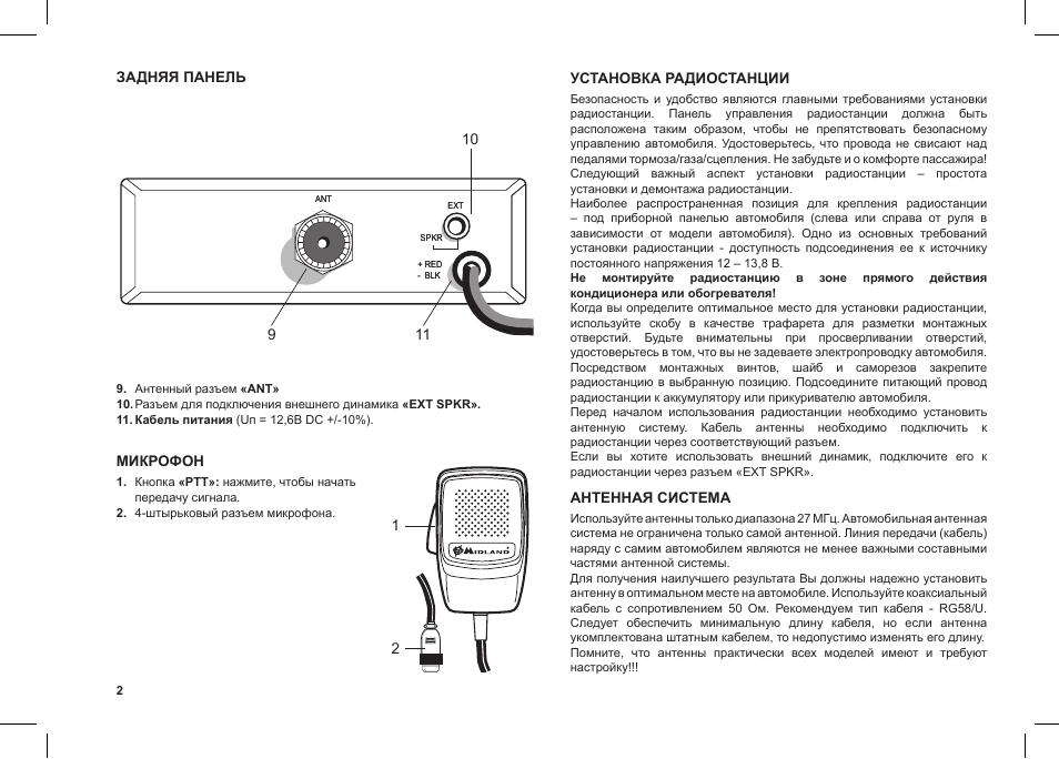 В радиостанции midland g5 функция подавления фоновых шумов (squelch) включается автоматически.