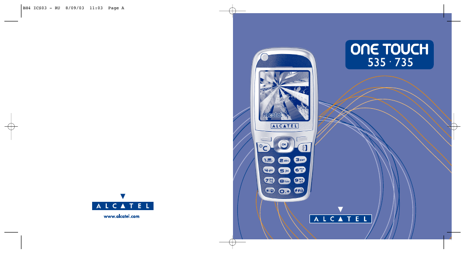 Alcatel instructions manual