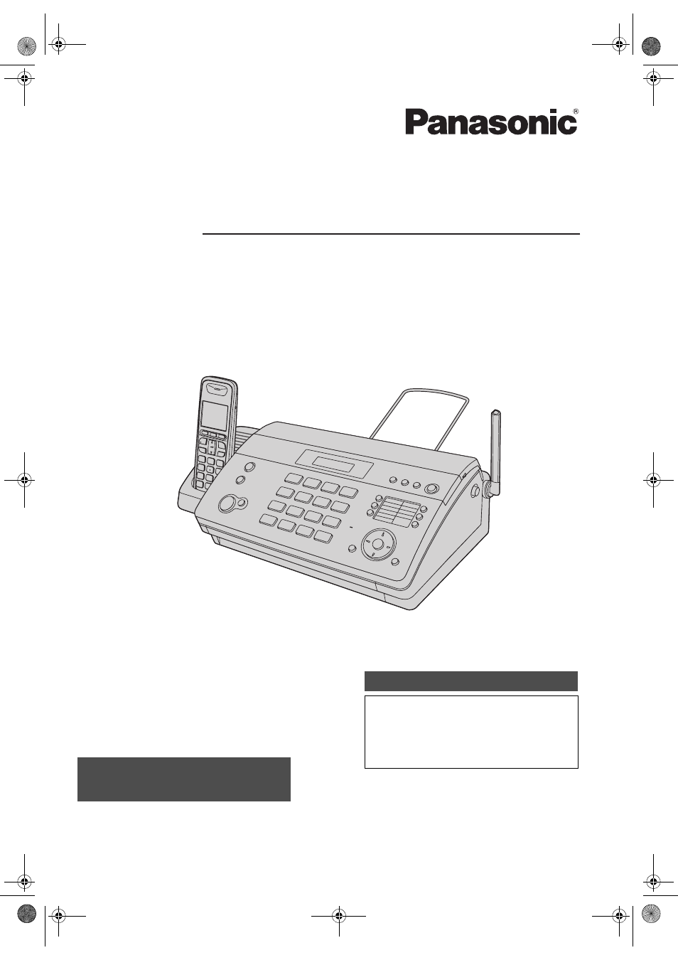 Panasonic Kx Fc965 инструкция